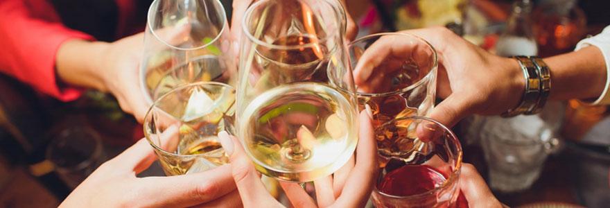 Achat de vin et de champagne